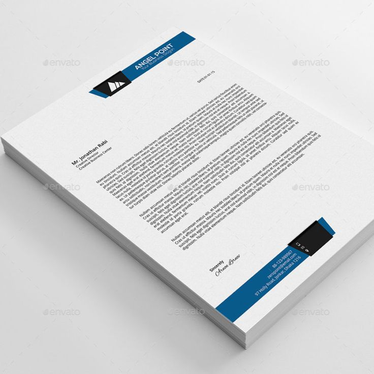 Business letterhead template word free download friedricerecipe Choice Image