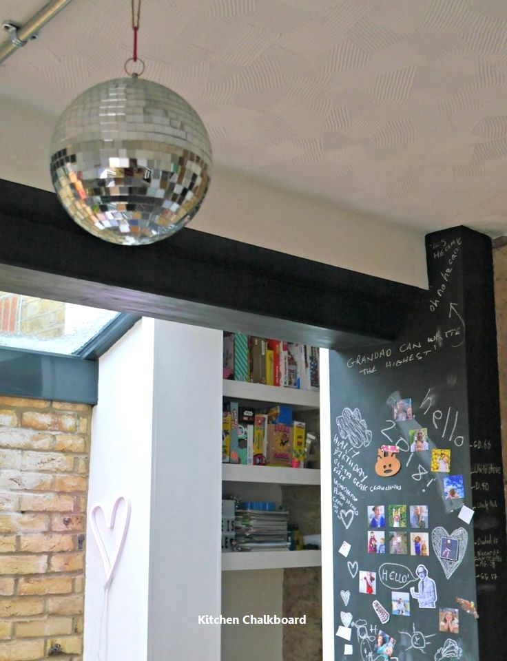 21 Inspiring Ways To Use Chalkboard Paint On a Kitchen 1 Kitchen