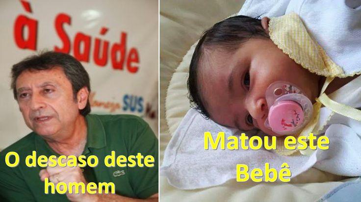 EDGAR RIBEIRO: OMISSÃO E DESCASO DE RICARDO MURAD MATA BEBÊ.