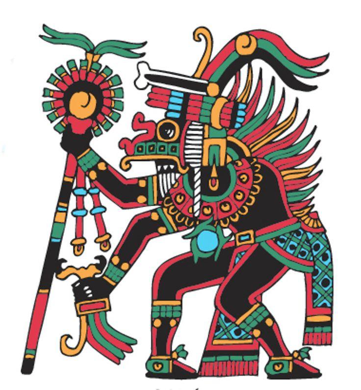 Xolotl - (God of the Evening Star - evil twin of Quetzalcoatl)