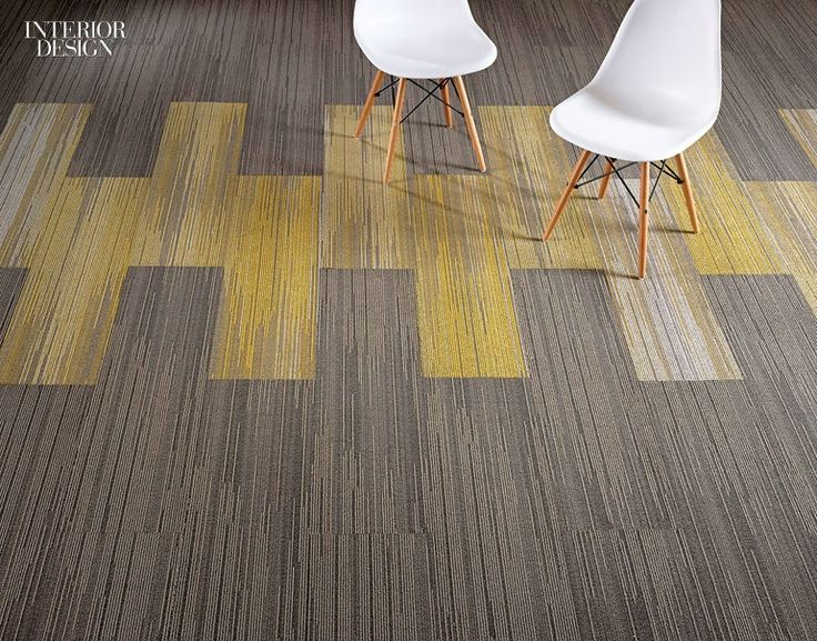 32 New Flooring Products with Remarkable Verve | Index nylon carpet tile by Invision. #interiordesignmagazine #interiordesign #design #products #flooring