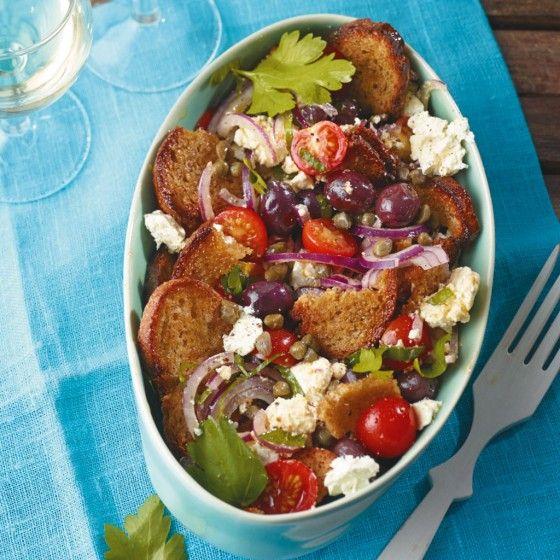 ESSEN & TRINKEN - Griechischer Brotsalat Rezept