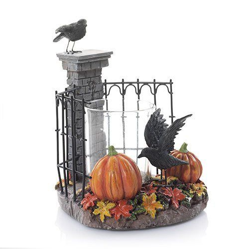 Yankee Candle Raven Collection Spooky Gates Votive Holder