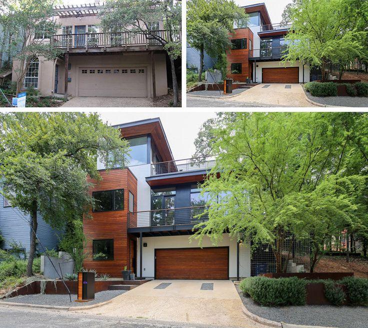 Home Exterior Remodel: 7 Best Before & After Exterior Remodel Images On Pinterest
