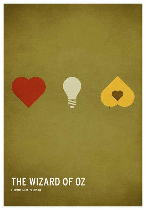 Classic Children Stories Minimal Posters