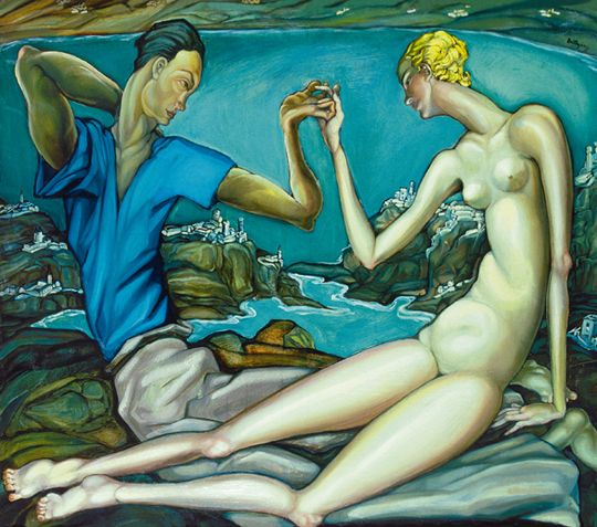 Gyula Batthyany - Dubrovniki szeretők, 1930 körül