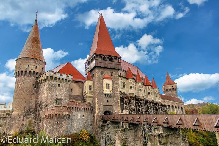 Corvin Castle by Eduard Maican on 500px Corvin Castle or Hunyad Castle  it was the place where Vlad III of Wallachia (commonly known as Vlad the Impaler or Dracula ) was held prisoner by John Hunyadi, Hungary's military leader and regent during the King's minority, for 7 years after Vlad was deposed in 1462.  Location : Hunedoara, Romania