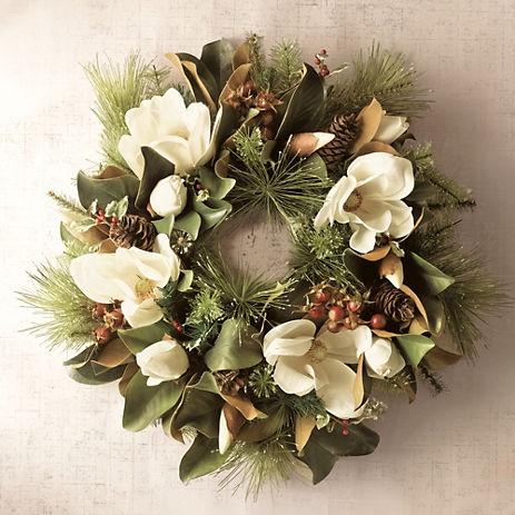 Magnolia Wreath | Gump's