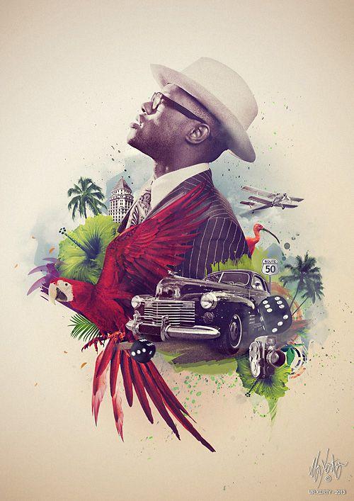 Soul-Mate - Online portfolio of Mr.Xerty aka Brice Chaplet - Graphiste/illustrateur Freelance - Paris