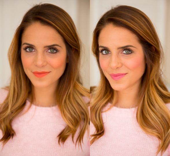 YSL Blush & lipstick duo- pink or orange