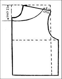 Resultado de imagen para cuello bandeja patron