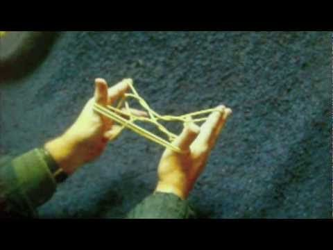 ▶ Slow motion how to make some Inuit string figures - YouTube