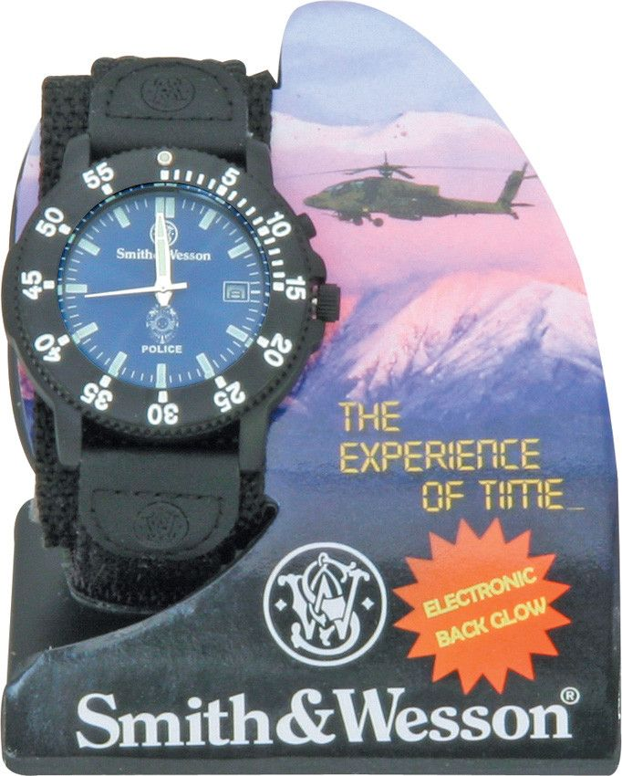 Smith & Wesson Police Watch Law Enforcement - Free Shipping!