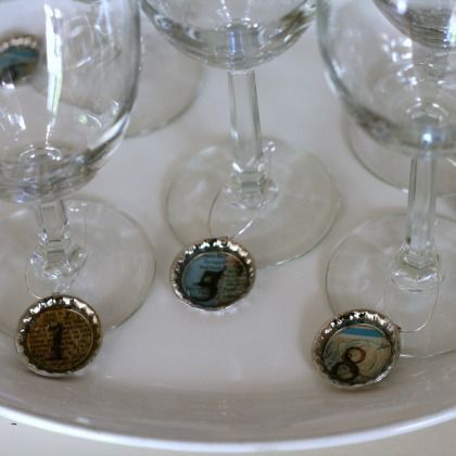 DIY Drink Markers or can be gift labels/tags..