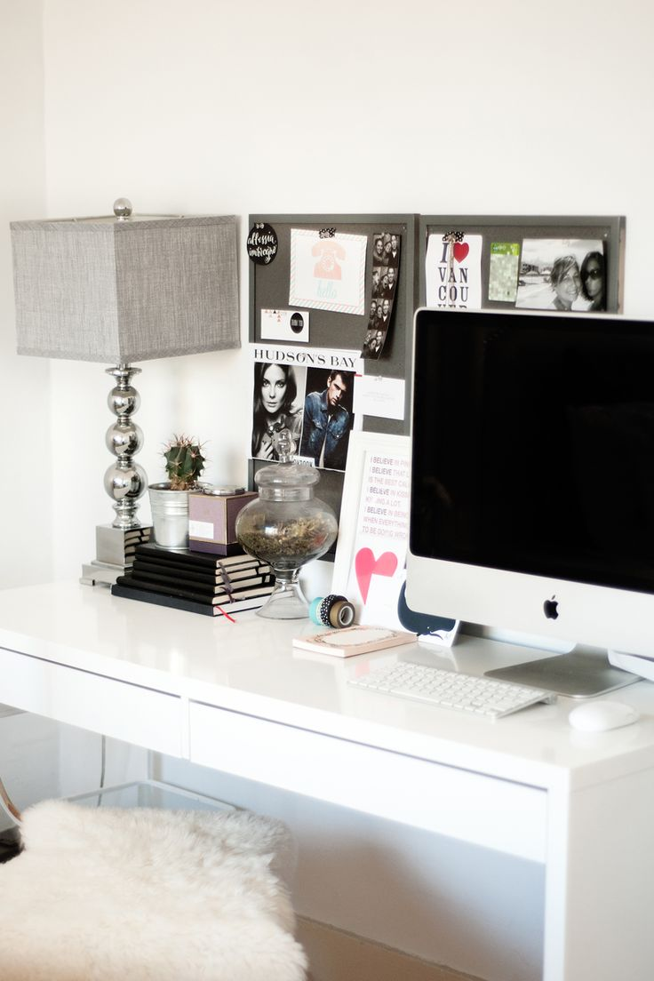 200 best home office inspiration images on pinterest office allessia imbrogno s vancouver home tour theeverygirl