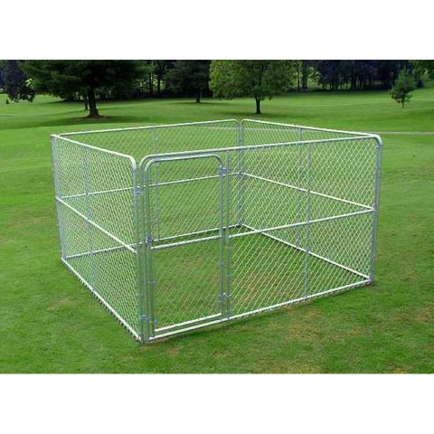 299 Stephens Pipe Amp Steel Dog Kennel 10 Ft W X 10 Ft