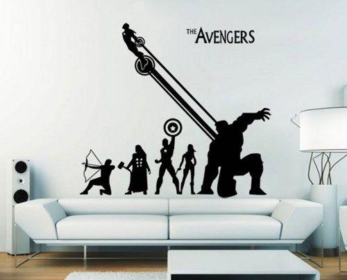 The Avengers Vinyl Wall Art Decal (wd448) Part 81
