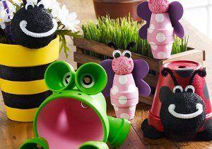 Clay Pot Critters | FaveCrafts.com