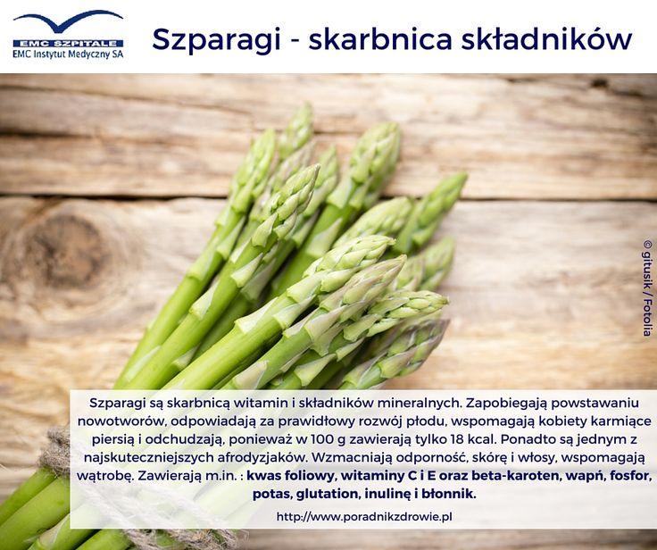 Sezon na szparagi trwa. Bardzo polecamy Wam włączenie ich do menu. Jedzcie białe, zielone i fioletowe. Wszystkie są super zdrowe!