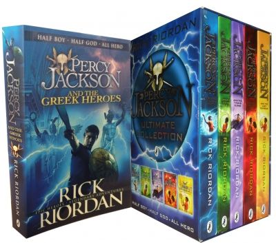 Percy Jackson Collection of 6 Books Set by Rick Riordan  #PercyJackson #GreekHeroes #LightningTheif #book #Teen #YoungAdult #BooksForTeens   http://www.snazal.com/percy-jackson-collection-6-books-set--DEALMAN-U5-PJ-6bks.html