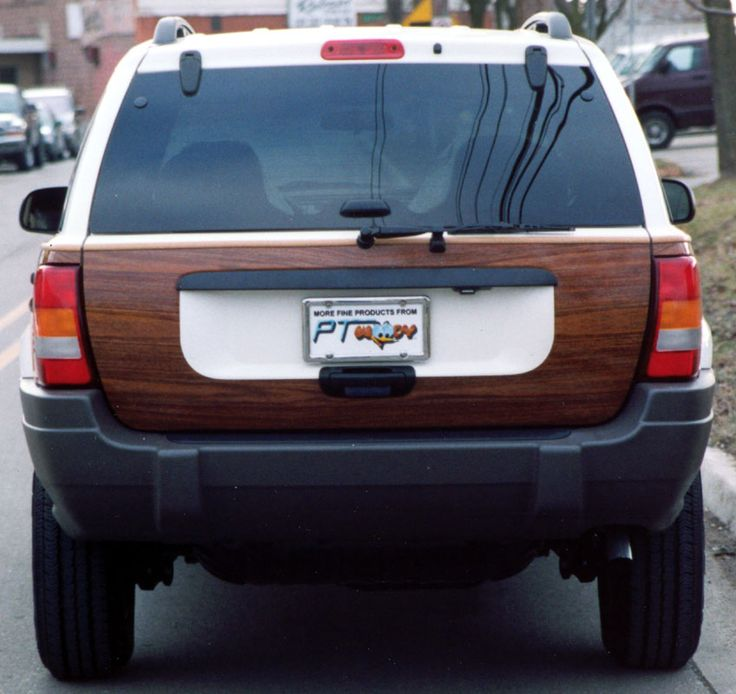 "PT Woody ""Jeep Cherokee"" Wood Styling Kit"