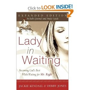Just finished re-reading this book and I LOVE it!!! Highly recommended for any single christian woman.  Great gift :)