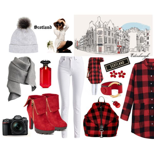 #outfitsfortravel #fashion #winter #travel #Scotland #Europe #traveloutfits by edin-levic on Polyvore featuring moda, Barbour International, Wild Diva, Boohoo, Marni, Schreiner, Acne Studios, Helen Moore, Victoria's Secret and TONYMOLY
