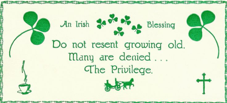 An Irish birthday blessing