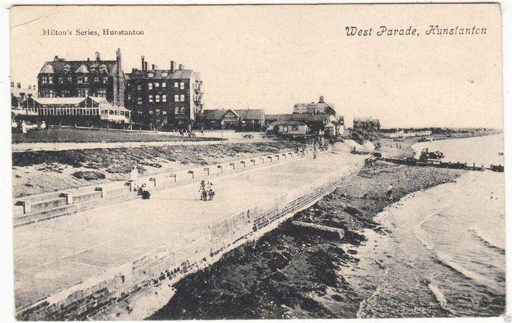 HUNSTANTON - West Parade - Hilton's Series - Norfolk - 1906 used postcard | eBay