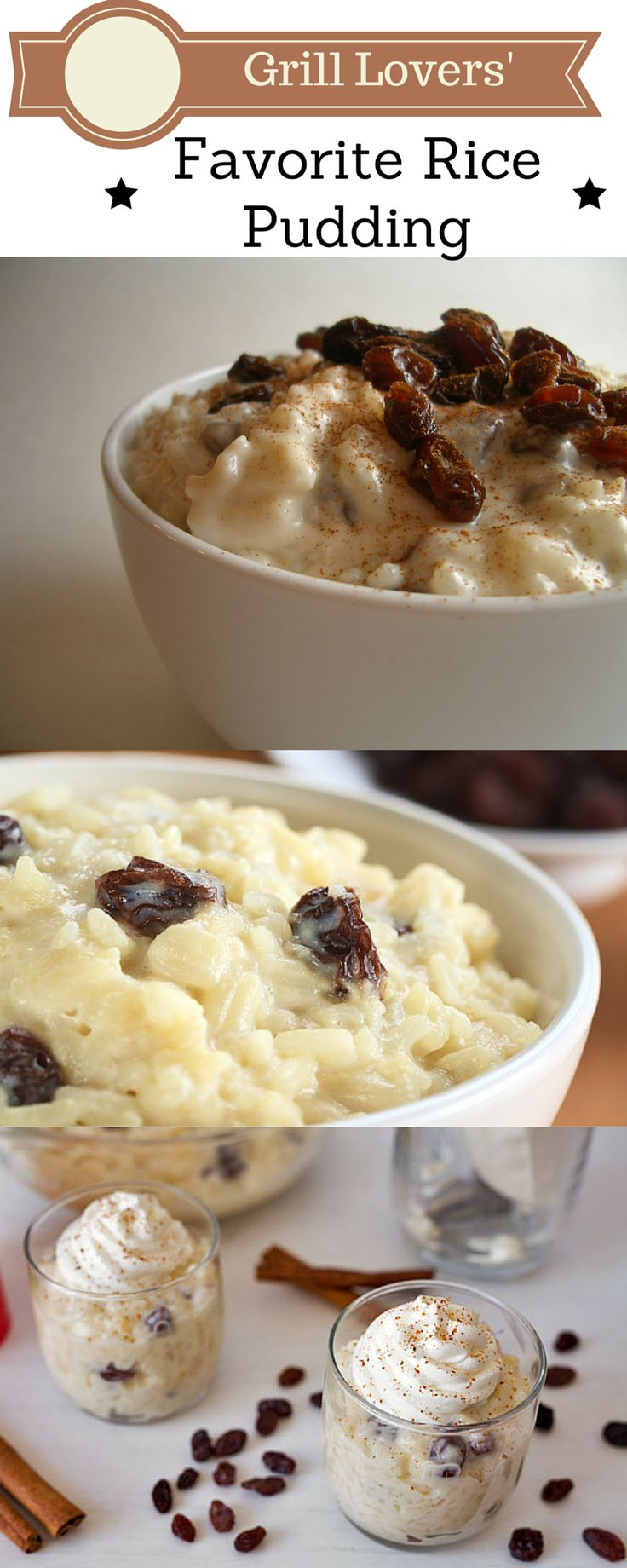 Grill Lovers' Favorite Rice Pudding Recipe   #recipes #foodporn #foodie