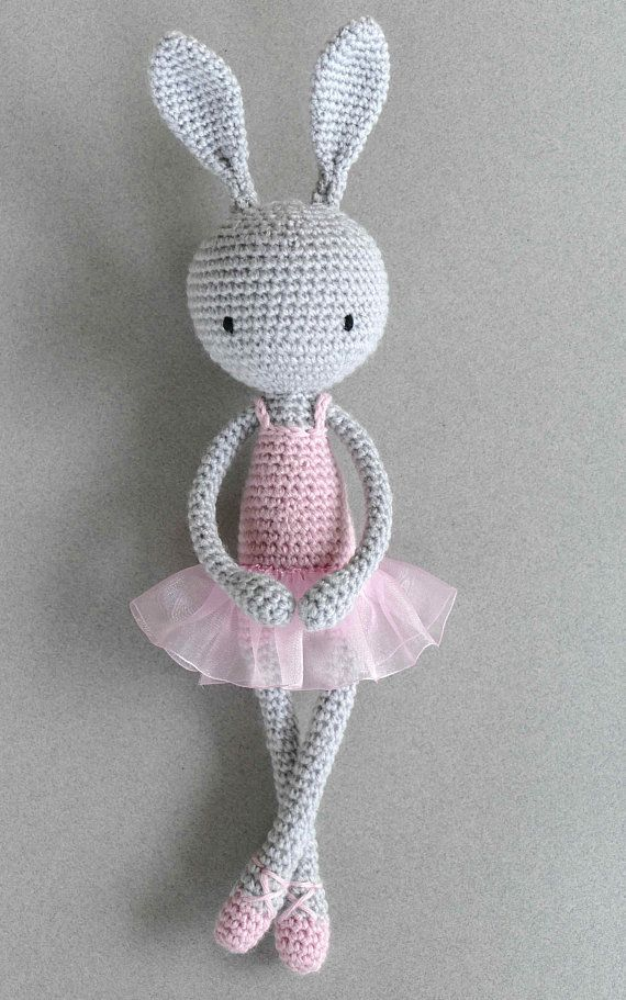 Français/English : Modèle au crochet amigurumi My little bunicorn ... | 911x570