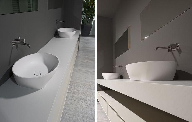 Sinks solidea antonio lupi arredamento e accessori da bagno wc arredamento corian - Antonio lupi accessori bagno ...