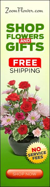 Zoomflower.com. Free Flower Delivery anywhere in USA and Canada.