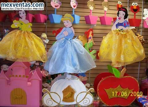 Disney Princess Centerpiece Kids B Day Ideas Pinterest