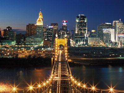 Cincinnati Ohio.  One of my favorite cities.