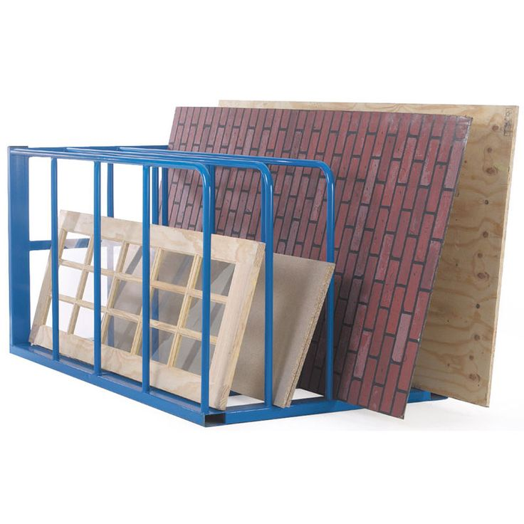 Vertical Sheet Racking with 4 to 10 compartments