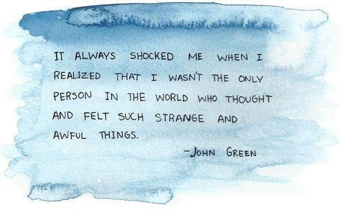 John Green Looking for Alaska | Feelings