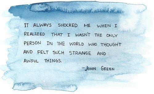John Green Looking for Alaska | Feelings