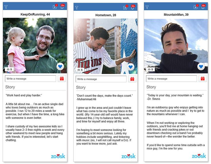 Dating profiles three awesome examples to learn from