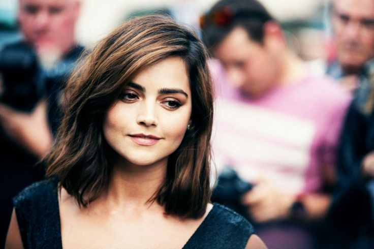 Jenna Coleman arriving at the Vogue party in Paris, France - 5 July 2016