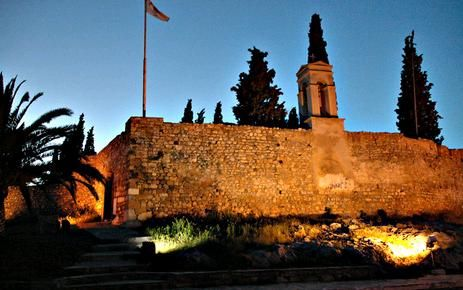 Karababa Castle in Chalkis