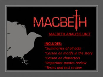 an analysis of ambition in macbeth a play by william shakespeare Essays and criticism on william shakespeare's macbeth macbeth critical evaluation - essay william symbol of the ambition that is already within macbeth.