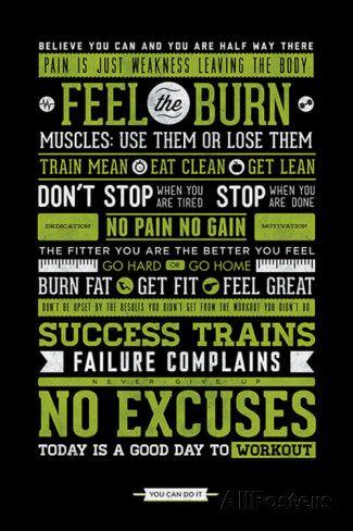 Gym - Motivational Prints at AllPosters.com