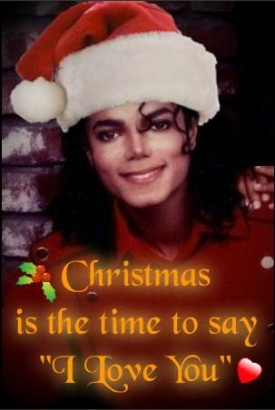 """Christmas is the time to say """"I Love You"""""""