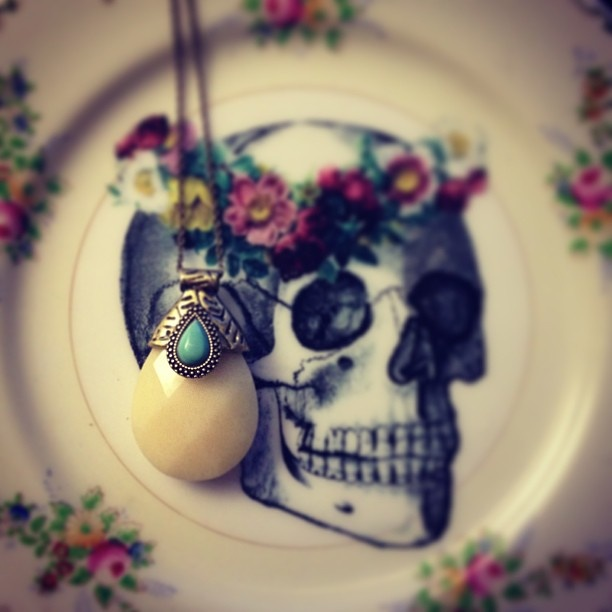 samantha wills skull  www.samanthawills.com turquoise jewellery jewelry