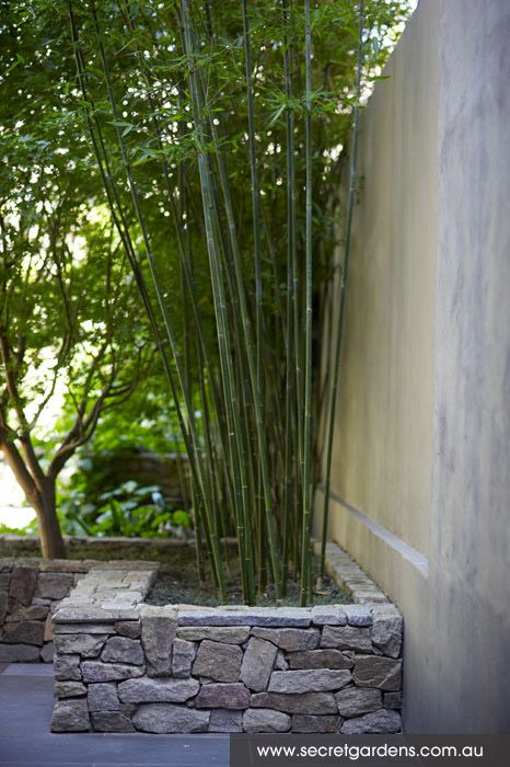 25 best ideas about dry stone on pinterest stone walls for Courtyard stone landscape