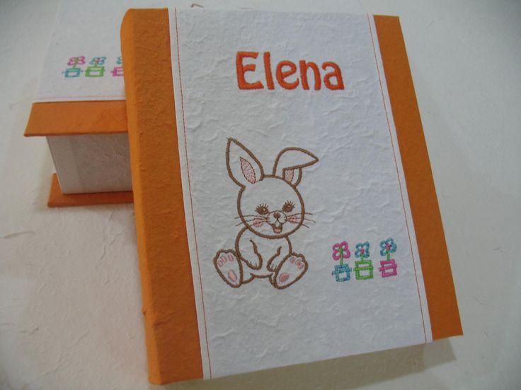 album personalizzato con nome e scatola coordinata