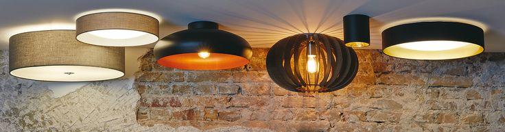 Breng sfeer in huis met bijvoorbeeld deze mooie Eglo plafondlampen!
