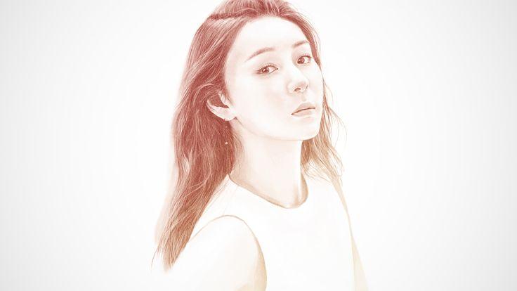 Drawing Yuna Kim in Photoshop, eunbi ko on ArtStation at https://www.artstation.com/artwork/lPv5G