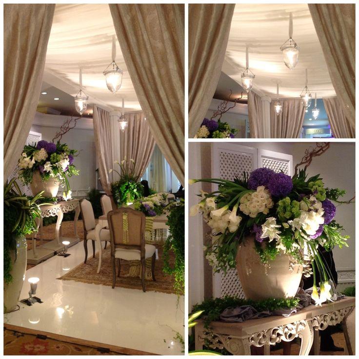 Dekorasi tradisional bercampur eropa oleh tante sas di pameran wedding shangrilla hotel